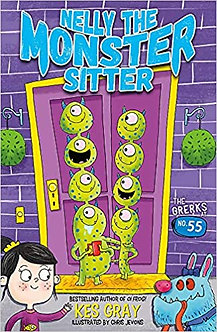 The Grerks at No. 55: Book 1 (Nelly the Monster Sitter, Band 1)