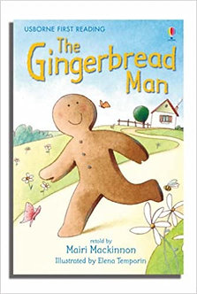 The Gingerbread Man (Usborne First Reading: Level 3) Hardcover