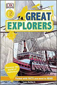 Great Explorers: Discover the World of Explorers! (DK Readers Level 2)