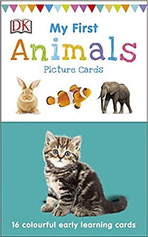 My First Animals: 16 colourful early learning cards