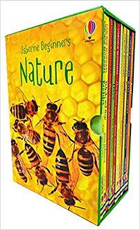 Usborne Beginners Nature 10 Books Box Set Collection