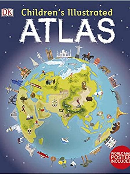 Children's Illustrated Atlas (Dk Childrens Atlas) Hardcover