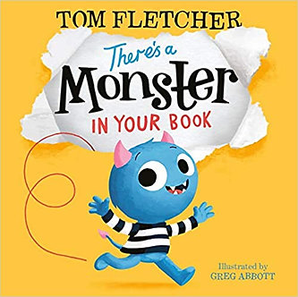 There's a Monster in Your Book (Who's in Your Book?) Board Book