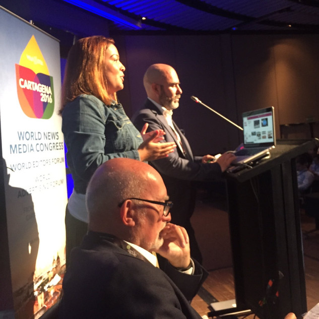 Sely Colón at WAN-IFRAs World Congress