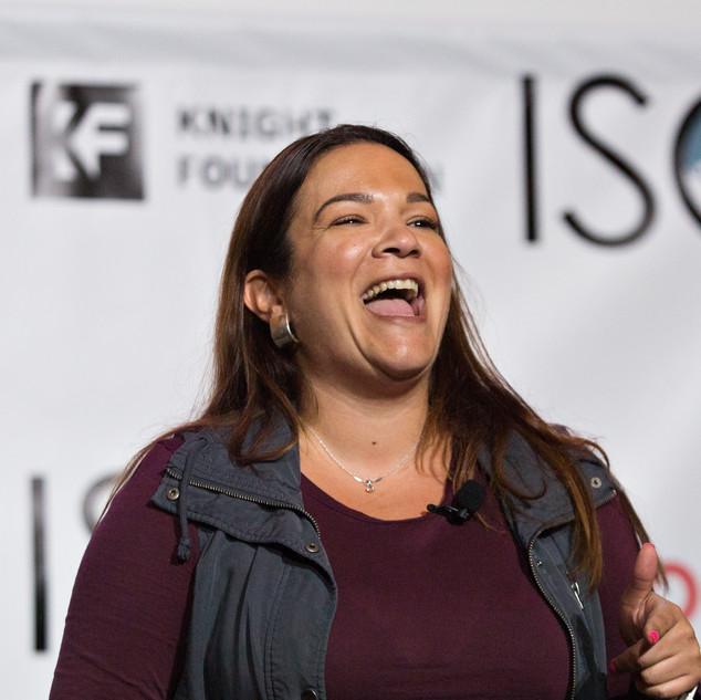Sely Colón at ISOJ 2018