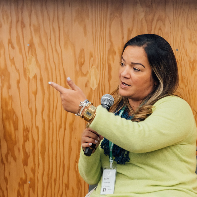 Sely Colon at ICFJ/Facebook Accelerator