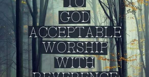REVERENCE & AWE!