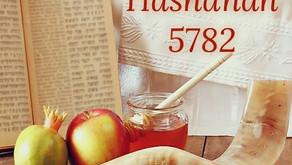 ROSH HASHANAH 5782 ~ LABOR DAY, 9/6/21