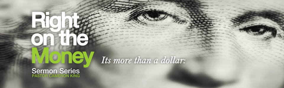 Right On The Money - Web Banner