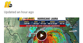 WE NEED TO BE IN PRAYER ABOUT THIS CAT 4 HURRICANE!