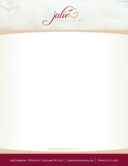Julie G Ministries - Stationary Print File