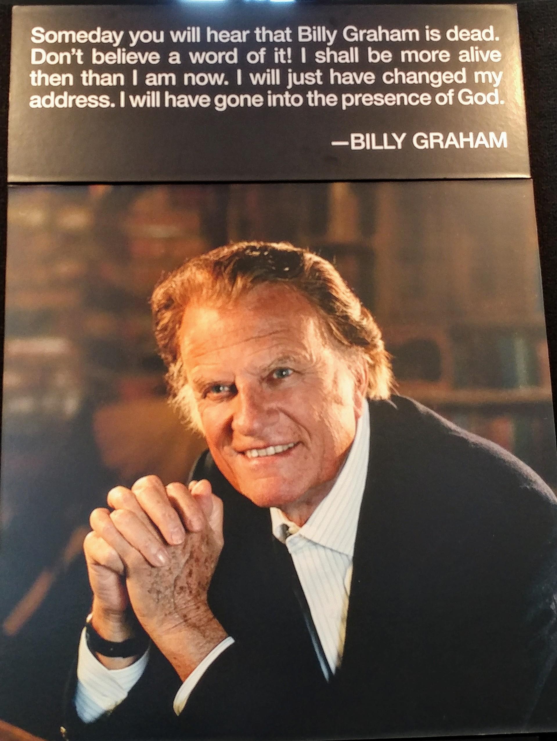 An Epic Shift ~ Rev  Billy Graham | Prophetic Reformer