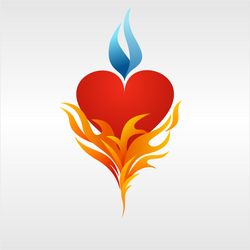 Heart Flame 2