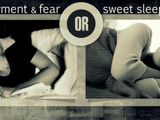 DO YOU HAVE SWEET SLEEP?