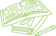Text Books Green.png