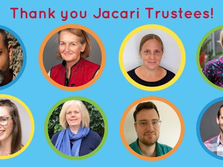 Celebrating Jacari's trustees