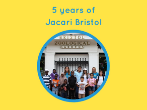 Jacari Bristol celebrates 5 years