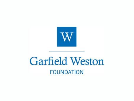 Jacari awarded funding from Garfield Weston Foundation