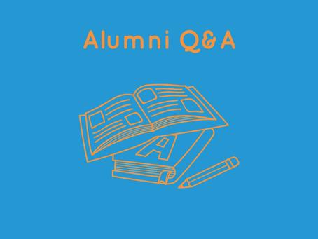 Alumni Q&A with Denis Rixson