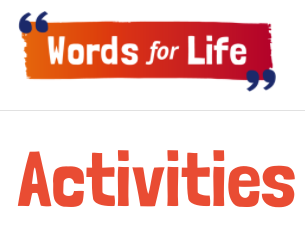 Words for Life Activities