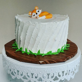 The cutest baby shower cake around 😍_#m