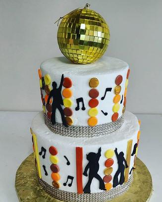 Groovy Disco Cake