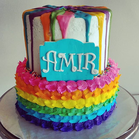Happy #throwback Thursday, cake lovers!�