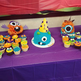 Monster party! Loved making these adorab
