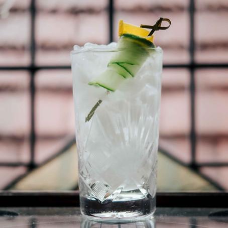 Cucumber Collins Cocktail