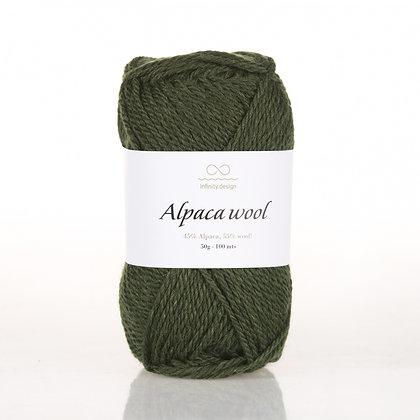 Alpaca Wool MOSE GREEN