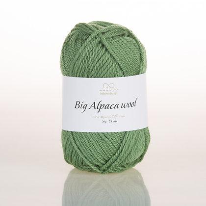 Big Alpaca Wool GREEN