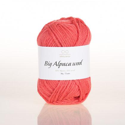 Big Alpaca Wool CORAL