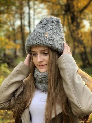 Инструкция по вязанию зимнего комплекта The One-Day Hat