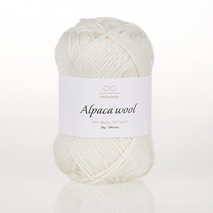 Alpaca Wool WHITE