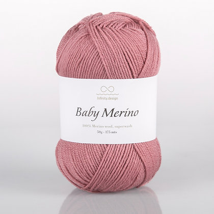 Baby Merino (DARK POWDER PINK)