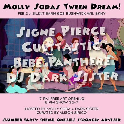 Culttastic at Molly Soda's Tween Dream