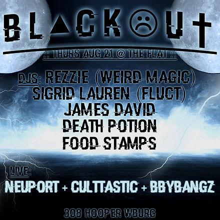 Culttastic at BLACKOUT