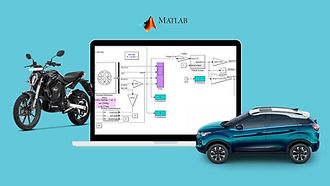 Build Dynamic Model of Electric Vehicle in MATLAB