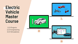 Electric Vehicle Master Course (Package of 3)