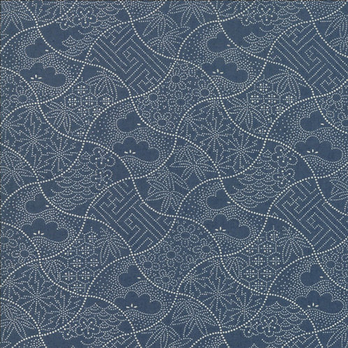 Boro Sashiko Vintage Blue M33408 22