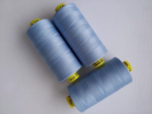Нитка Gutermann Mara 120(голубой)
