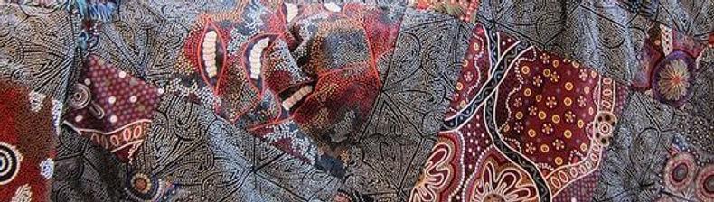 Австралийские этнические хлопковые ткани для пэчворка