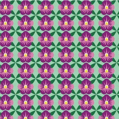 Deco State (Illinois - Purple Violet)