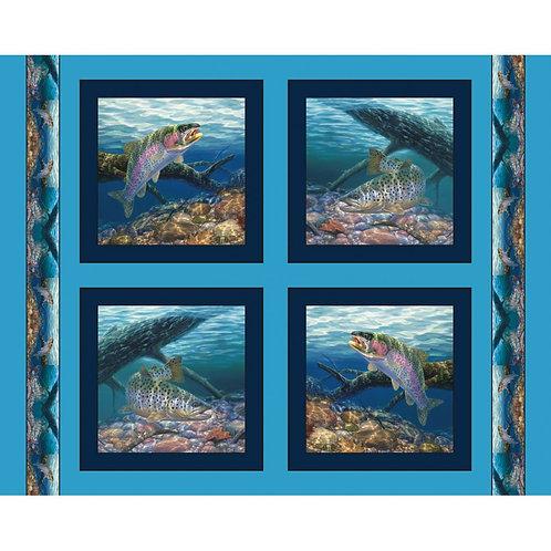 Anglers Delight Fish (панель)