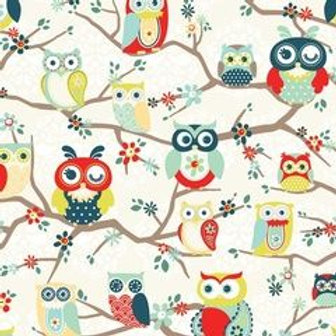 Nested Owls Mint 3