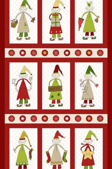 Christmas Elves панель