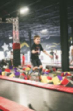 indoor trampoline birthday event kids kiddie party jump play