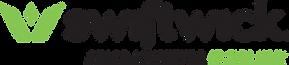 Black Green Logo with Tagline on Transpa