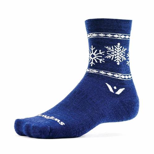 Swiftwick Snowflake Merino Socks