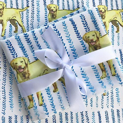 Yellow Labrador Tea Towel